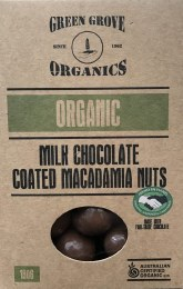 Milk Chocolate Macadamia 180gm