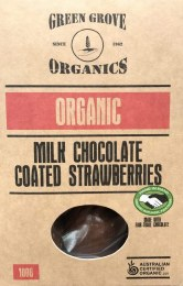 Milk Chocolate Strawberry 100gm