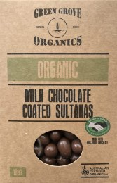 Milk Chocolate Sultana 180gm