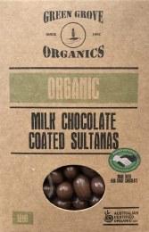 Milk Chocolate Sultana 180gm