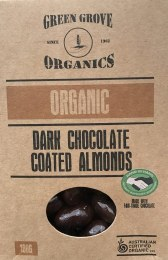Dark Chocolate Almonds 180gm