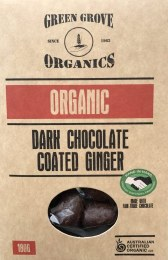 Dark Chocolate Ginger 180gm