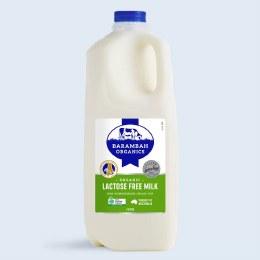 Milk Lactose Free 2L