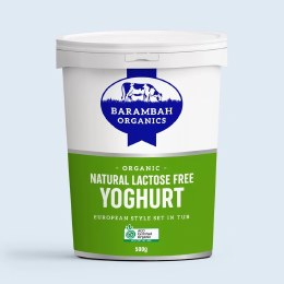 Yoghurt Lactose Free Natural 500gm