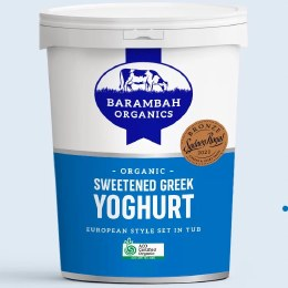Yoghurt Greek Sweetened Large 1kg