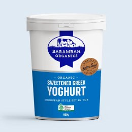 Yoghurt Greek Sweetened 500gm
