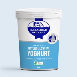 Yoghurt Low Fat Natural 500gm