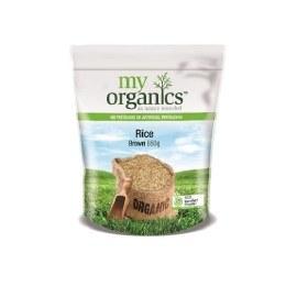 Rice Brown Medium Grain 650gm