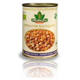 Canned Lentils 400gm Bpa Free