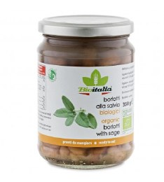 Jar Borlotti Beans with Sage 350gm