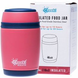 Insulated Food Jar Dusty Pink