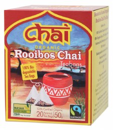 Organic Rooibos Chai Tea 20 Bags