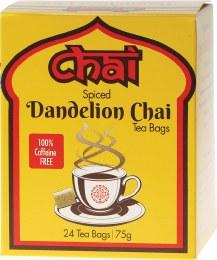 Spiced Dandelion Chai Tea 24 Bags