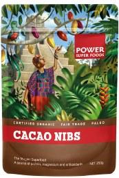"Cacao Nibs ""The Origin Series"" 250gm"