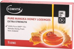 Pure Manuka Honey Lozenges UMF 10+ 16