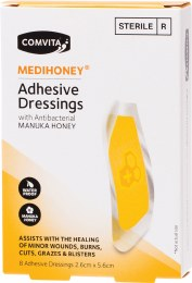 Medihoney Adhesive Dressings - Small