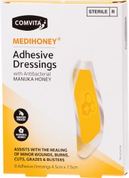 Medihoney Adhesive Dressings - Large