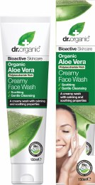 Creamy Face Wash Organic Aloe Vera 150ml