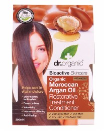 Conditioner - Restorative Organic Moroccan Argan Oil 200ml