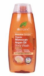 Body Wash Organic Moroccan Argan Oil 250ml