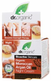Night Cream Organic Moroccan Argan Oil 50ml