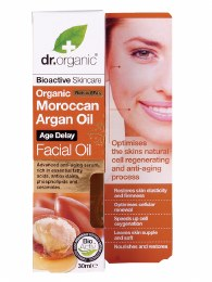 Facial Oil Organic Moroccan Argan Oil 30ml