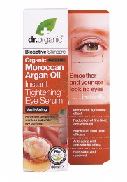 Instant Tightening Eye Serum Organic Moroccan Argan Oil 30ml