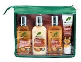 Mini Travel Pack Organic Moroccan Argan Oil 4 Pack