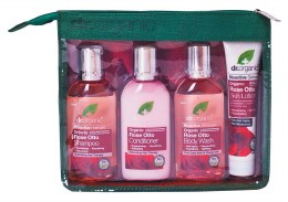 Mini Travel Pack Organic Rose Otto 4 Pack