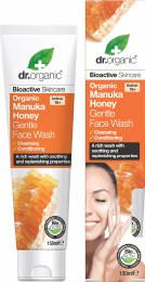 Gentle Face Wash Organic Manuka Honey 150ml