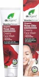 Creamy Face Wash Organic Rose Otto 150ml