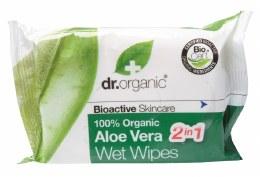Wipes Organic Aloe Vera 20 Wipes