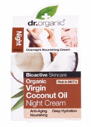 Night Cream Organic Virgin Coconut Oil 50ml