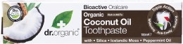 Toothpaste Organic Virgin Coconut Oil 100ml