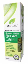 Aloe Vera Gel with Cucumber Organic Aloe Vera 200ml