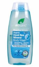 Body Wash Organic Dead Sea Mineral 250ml