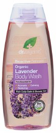Body Wash Organic Lavender 250ml