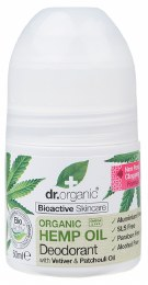 Roll-on Deodorant Organic Hemp Oil 50ml