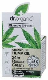Rescue Cream Organic Hemp Oil 50ml
