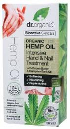 Intensive Hand & Nail Treatment Organic Hemp Oil 100ml