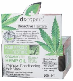 Intensive Conditioning Hair Mask Organic Hemp Oil 200ml