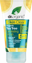 Exfoliating Face Scrub Skin Clear - Organic Tea Tree 150ml