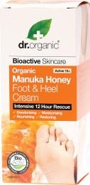 Foot & Heel Cream Organic Manuka Honey 125ml