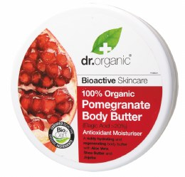 Body Butter Organic Pomegranate 200ml