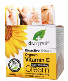 Hydrating Cream Organic Vitamin E 50ml