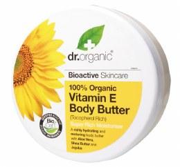 Body Butter Organic Vitamin E 200ml