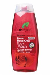 Body Wash Organic Rose Otto 250ml