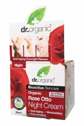 Night Cream Organic Rose Otto 50ml