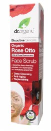 Face Scrub Organic Rose Otto 125ml