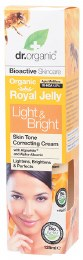 Light & Bright Cream Organic Royal Jelly 125ml